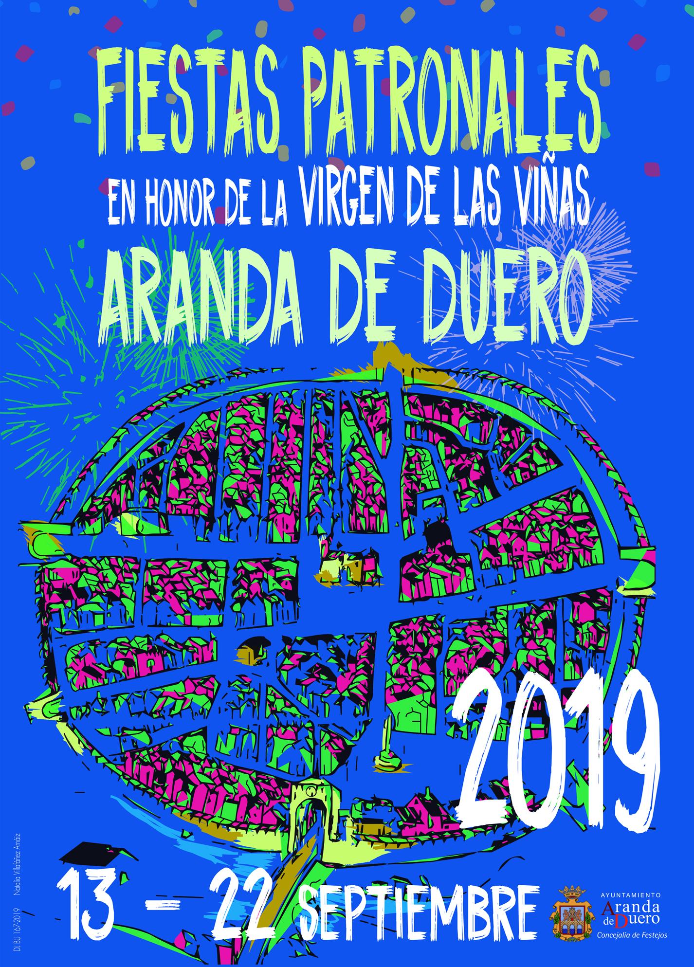 Cartel Fiestas Aranda 2019